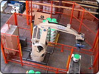 robotic work cell palletising